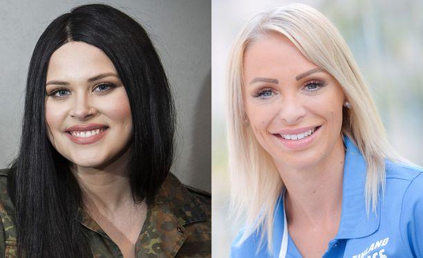 Sara Forsberg ja Annimari Korte ovat tänään Susanne Päivärinnan vieraina.