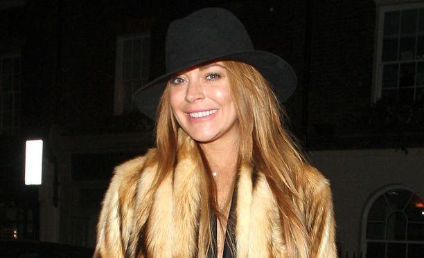 Lindsay Lohan asuu nykyään Lontoossa.