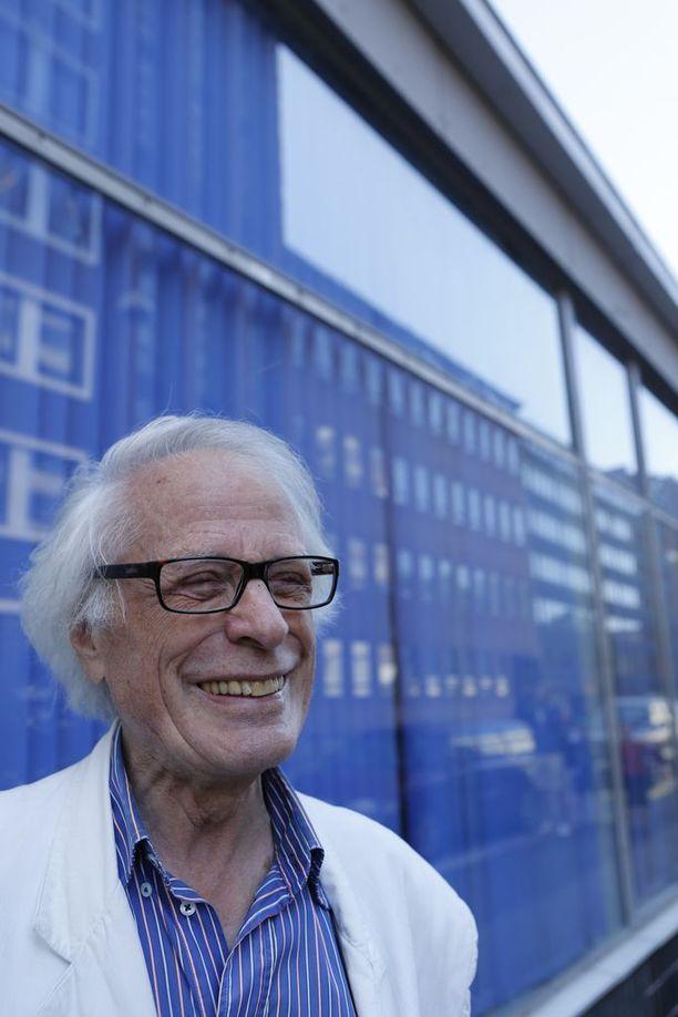 Erik Bruun elää ja työskentelee edelleen. Arkistokuva.