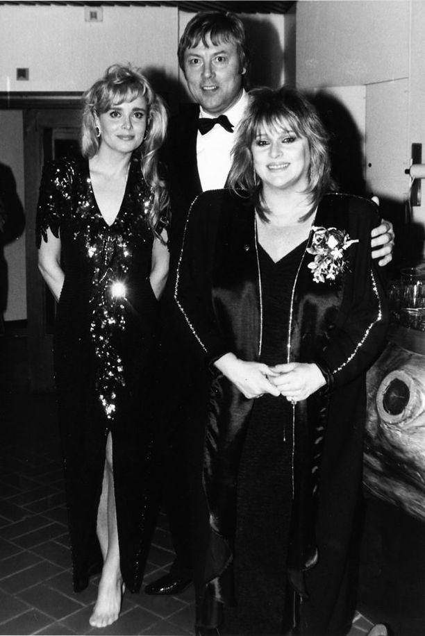 Armi, Danny ja Marion Rung Linnan juhlissa vuonna 1992.