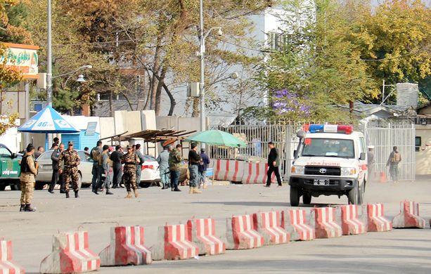 Vasta viikko sitten Kabulissa tehtiin itsemurhaisku, jossa kuoli useita ihmisiä.