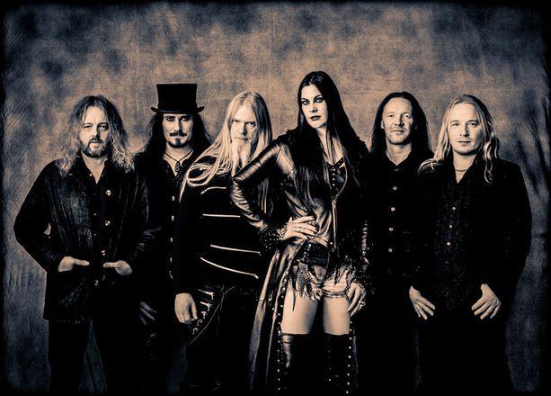 Nightwishille tämä vuosi on kiireinen.