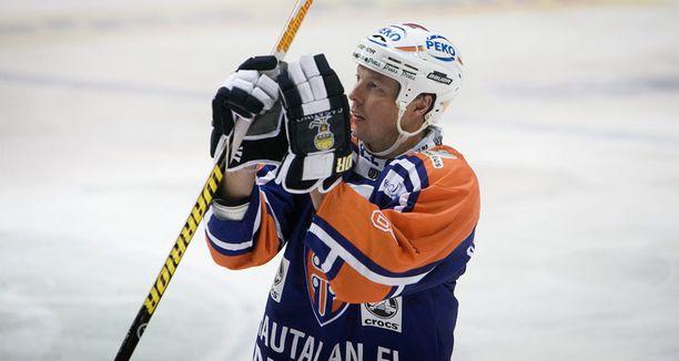 Janne Ojanen päätti SM-liigauransa viime keväänä. Hän takoi runkosarjan kaikkien aikojen piste-ennätykseksi 799 tehopistettä.