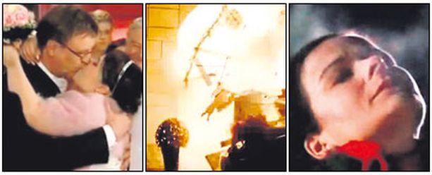 Ennen räjähdystä sarjassa juhlittiin Ismon ja Sallan häitä.