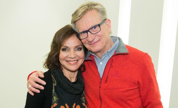 Lena ja Olli ovat olleet yhdessä huimat 34 vuotta.