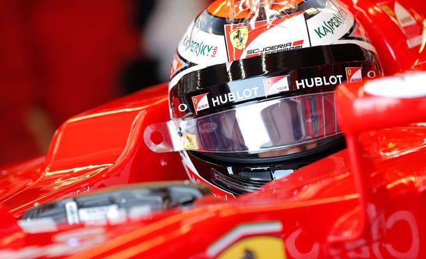Kimi Räikkönen selvisi kunnialla jatkoon aika-ajojen kakkososiosta.