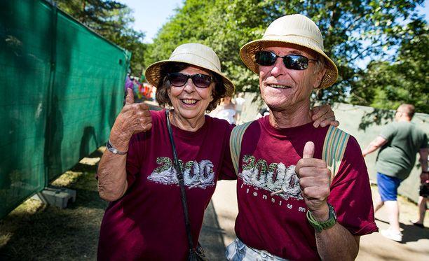 Marja-Liisa ja Esko ovat olleet 55 vuotta yhdessä.