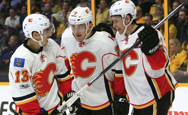 Calgary Flames on menossa pudotuspeleihin.