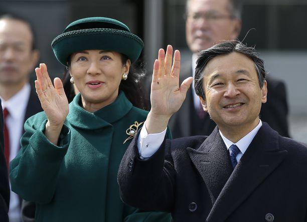 Japanin uusi keisaripari 1.5.2019 lähtien - keisarinna Masako ja keisari Naruhito.