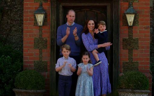 William ja Catherine päivittivät profiilikuvansa – tällainen on uusi perhepotretti