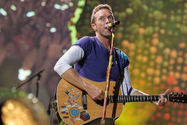 Chris Martin tunnetaan Coldplay-yhtyeen keulahahmona.