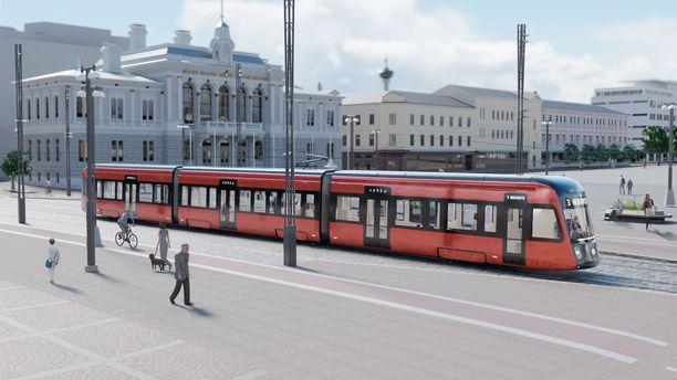 Torstaina tiedetään, kuka alkaa liikennöidä Tampereen punaisia raitiovaunuja elokuussa 2021.