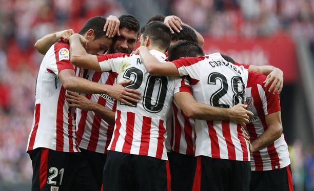 Athletic Bilbao ei tällä kaudella ole mässäillyt maaleilla.