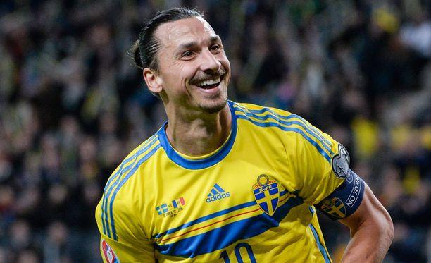 Zlatan Ibrahimovicin Ruotsi kohtaa Tanskan.