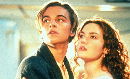 Jackin roolissa nähtiin Leonardo DiCaprio ja nuorta Rosea näytteli Kate Winslet.