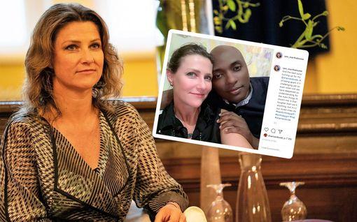 Shamaanirakas yllätti prinsessa Märtha Louisen syntymäpäivänä - lämmin kohtaaminen puolen vuoden eron jälkeen