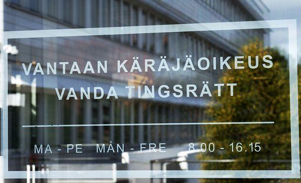 Vantaan käräjäoikeus antoi tuomion asiassa perjantaina.