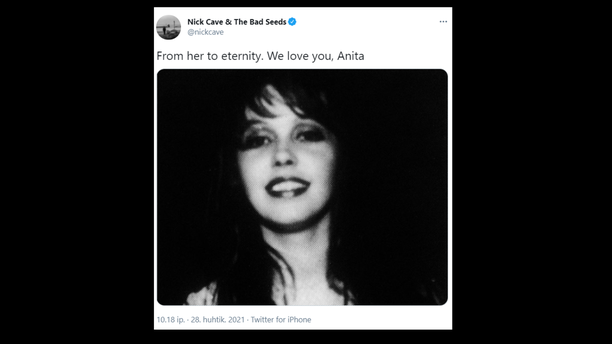 Anita Lane on kuollut.