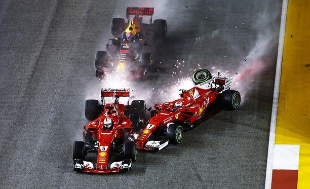 Singaporen GP oli Ferrarille katastrofi.