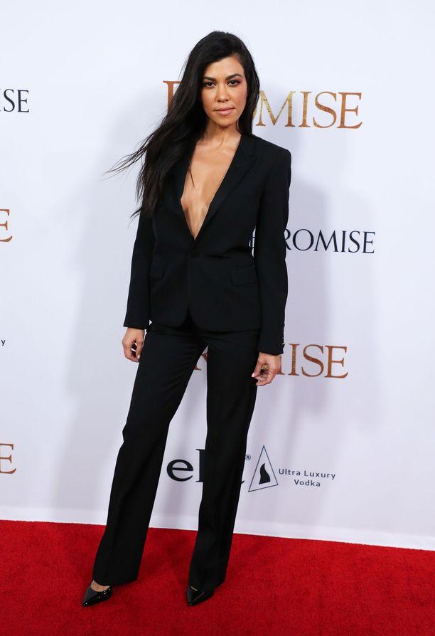 Kourtney Kardashian vuonna 2017.