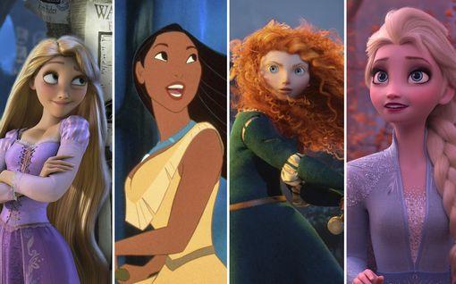 Lempeä Tuhkimo, empaattinen Elsa... – Testaa kuka Disney-prinsessa todella olet!