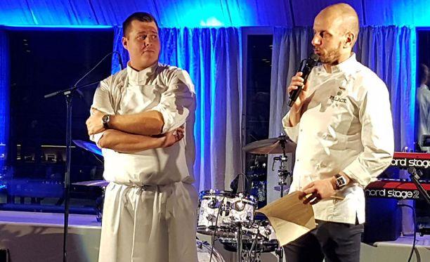 Ravintola Palacea luotsaavat Eero Vottonen ja Hans Välimäki.
