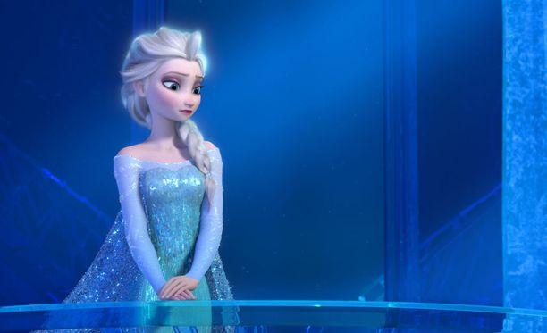 Supersuositun Frozen-piirretyn Elsa.