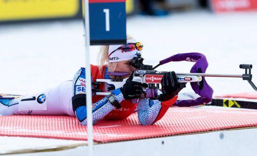 Mari Laukkasen maailmancupin kausi päättyi kuudenteen sijaan Holmenkollenin yhteislähdössä.