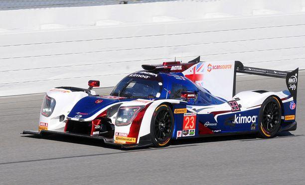 Fernado Alonson Daytona-kokeilu meni mönkään teknisten ongelmien takia.