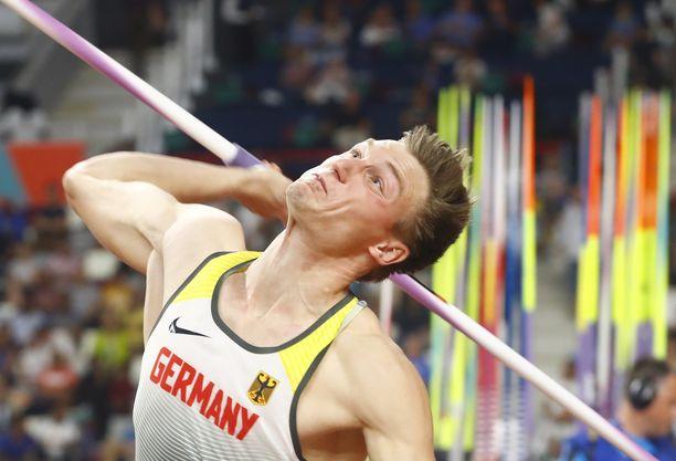 Thomas Röhler heitti keihäskarsinnassa vain 79,23.