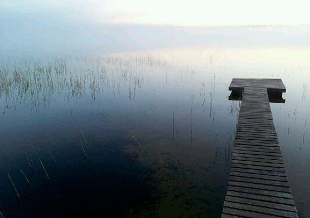 Sumu nousi juhannuksena Taivalkoskella.