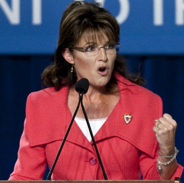 Sarah Palinilla oli demokraattipoliitikkoja tähtäimessään.