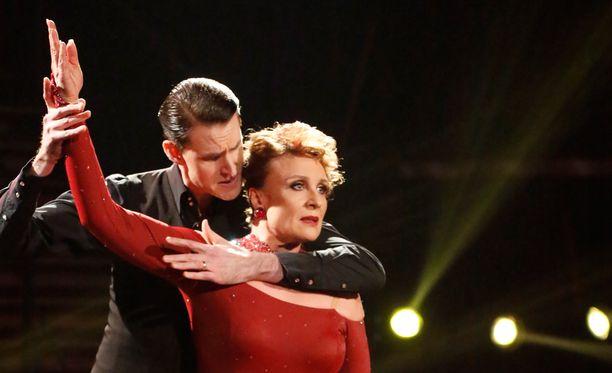 Sami Heleniuksen ja Hanna Sumarin tanssitaival päättyi.
