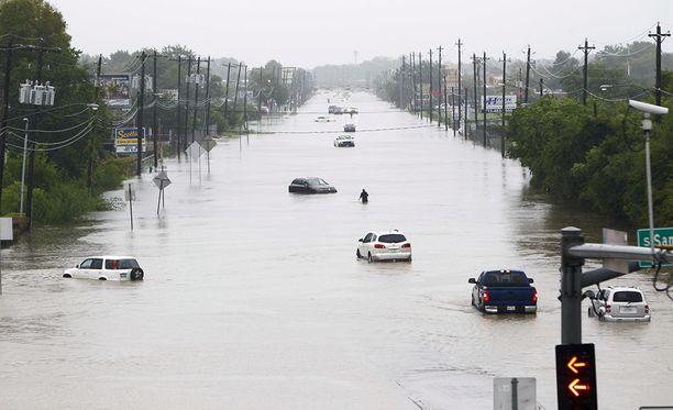 Houstoniin on tulossa lisää rankkasateita lähipäivinä.