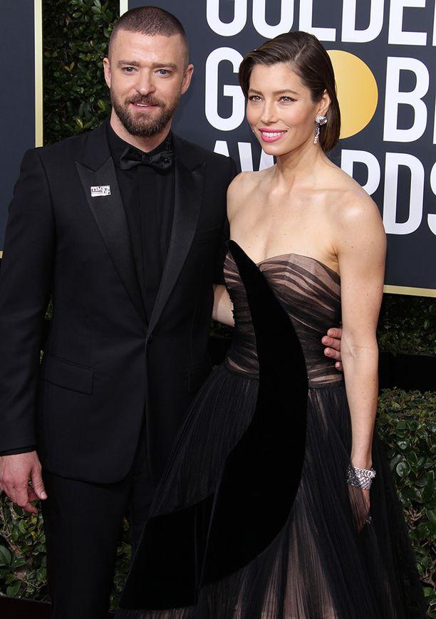 Justin Timberlake ja Jessica Biel