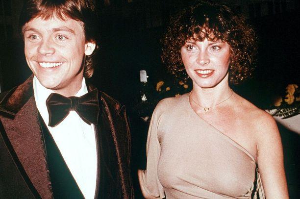 Mark Hamill, 66, on tunnettu näyttelijä. Hän ja Marilou York elokuva ensi-illassa 70-luvun lopussa.