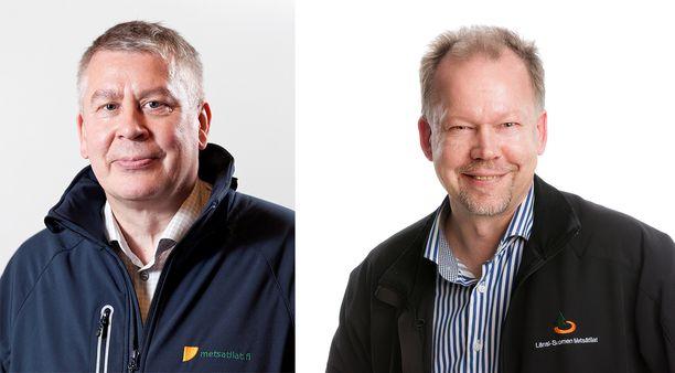 Antti Mähönen ja Jukka Pusa