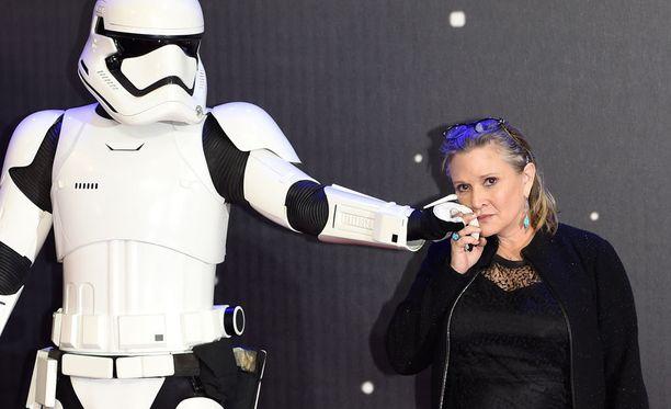 Carrie Fisherille ounailtiin suurta roolia koko uuden Tähtien sota -trilogian ajaksi.