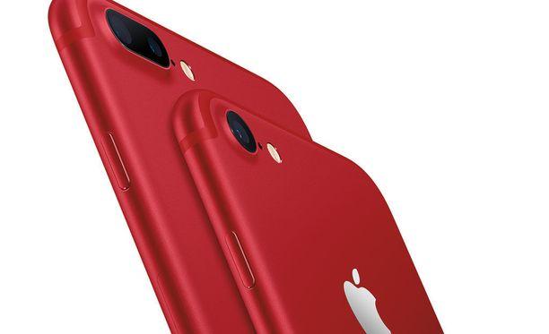 Aiemmin Iphonea on saanut peilimustana, mattamustana, hopeana, kultana sekä ruusukultana. Kuudenneksi värivaihtoehdoksi tulee punainen.