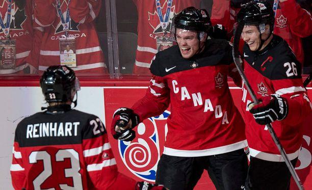 Kanada voitti USA:n alkulohkon päätöskierroksella 5-3.