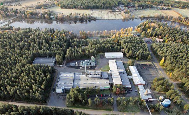 Chempolis testaa menetelmiään biojalostamossa Oulussa.