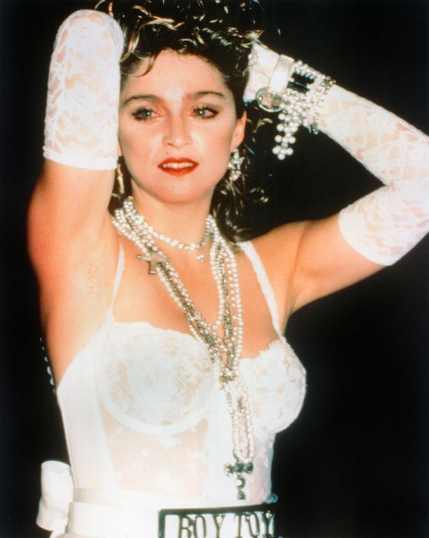 Madonna vuoden 1984 MTV Video Music Awards -gaalassa.