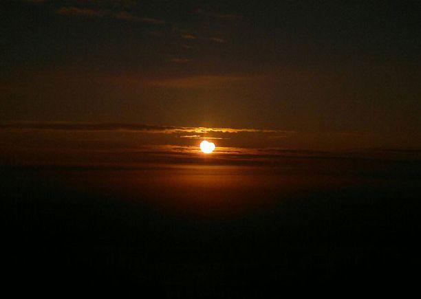 Aurinko pimeni Pietarsaaressakin.