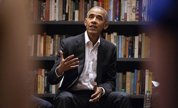 Barack Obama tulee Suomeen.