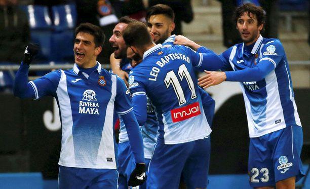 Vetovihjeessä uskotaan, että Espanyolin pelissä juhlitaan maaleilla.