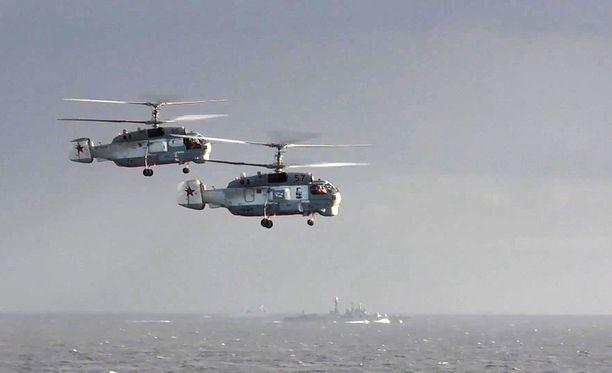 Venäjä aloitti laajan sotilasoperaation Syyriassa vuonna 2016.