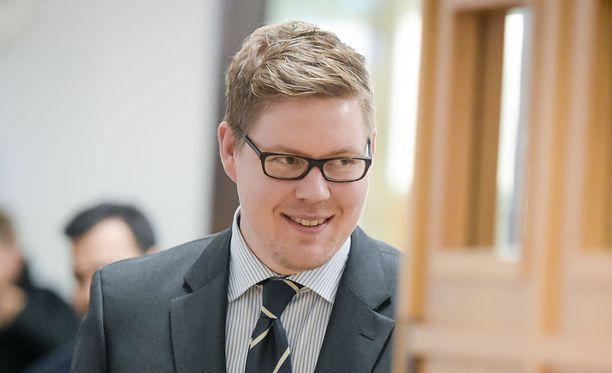SDP:n eduskuntaryhmän puheenjohtaja Antti Lindtman.