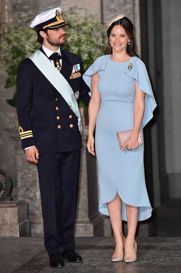 Prinssi Carl Philip ja prinsessa Sofia saivat huhtikuussa esikoisensa.