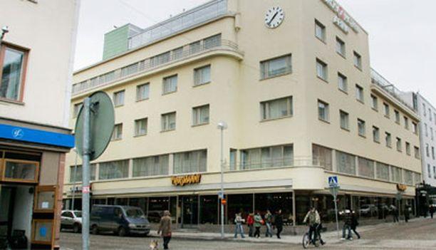 Oulun keskustan kehittäminen alkaa näkyä Kauppurin korttelista.