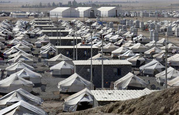 Irakissa on 2-3 miljoonaa ihmistä pakolaisleireillä maan sisäisinä pakolaisina, ja Irak ei hyväksy turvapaikanhakijoiden pakkopalautuksia.